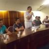 Uma comissão foi formada para estar à frente das negociações.