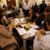Contagem dos votos da eleição, em Curitiba.