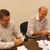 A contagem dos votos foi feita pelos cirurgiões-dentistas Fabiano de Mello e Celso Russo.