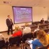 Dr. Alexandre Mazetto deu informações sobre o Código de Ética.