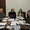 Da esquerda para a direita os membros da comissão Dr. Cesar Jose Campagnoli, Dra. Maria Lucia Tozetto Vetorazzi, Dra. Carolina de Oliveira Azim, e Dra. Ana Cristina Vidal Alegretti