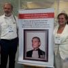 Dr. Roberto Cavali e Dra. Maria Helena durante homenagem ao Dr. Antonio Fernando Tommasi.
