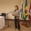 Dra. Carmen Lúcia Arrata conduziu a cerimônia no CRO/PR.