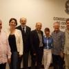 Integrantes da diretoria do CRO/PR com os CDs eleitos durante a assembleia.