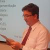Dr. Alexandre Mazzetto fez a apresentação do palestrante.