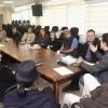 Representantes da Secretaria de Saúde se reuniram com representantes das universidades do Paraná.