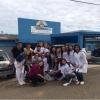 Estudantes promovem as doações dos materiais arrecadados