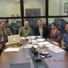 Dr. Aguinaldo Coelho de Farias, Dr. Roberto Cavali, Paulo Horácio, Dra Carmen Arrata e Dr. Edson Milani de Holanda.