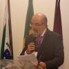 Dr. Roberto Cavali, presidente do CRO/PR, em discurso, na abertura do Encontro.