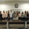 Os estudantes receberam informações sobre o mercado e relacionadas ao funcionamento do CRO/PR.