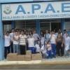 Estudantes fizeram a entrega na APAE do município