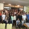Acadêmicos foram homenageados na cerimônia de encerramento do trote solidário na ABO Ponta Grossa